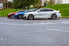 BMW автомобилей 4 серии, немецкий баварский изготовитель Стоковая Фотография