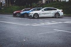 BMW автомобилей 4 серии, немецкий баварский изготовитель Стоковое Изображение RF