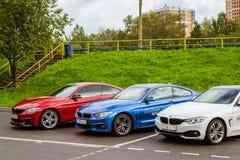 BMW автомобилей 4 серии, немецкий баварский изготовитель Стоковое Изображение