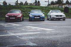 BMW автомобилей 4 серии, немецкий баварский изготовитель Стоковые Изображения