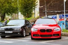 BMW 5 автомобилей, 3, 6, X3, X5, серия X6, немецкая Стоковое фото RF