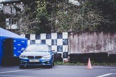 BMW 5 автомобилей, 3, 6, X3, X5, серия X6, немецкая Стоковое Изображение