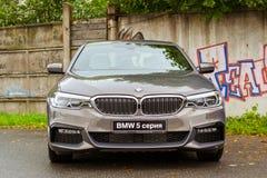 BMW автомобиля 5 серий, немецкий баварский изготовитель Стоковые Изображения RF