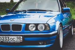 BMW автомобиля 5 серий, немецкий баварский изготовитель Стоковое фото RF