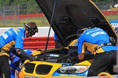 BMW в яме Стоковое Изображение RF