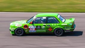 BMW гоночный автомобиль 3 серий Стоковые Фотографии RF