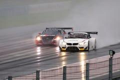 BMW против аудиторий Стоковые Изображения