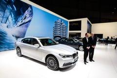 BMW 7系列 免版税图库摄影