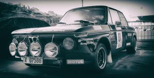 BMW 2002年钛1971年 库存照片