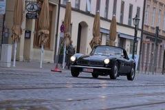 1957 BMW 507老朋友汽车 图库摄影