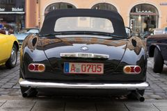 1957 BMW 507老朋友汽车 库存照片
