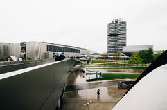 BMW总部在慕尼黑 免版税库存照片