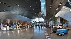 BMW总部设博物馆 库存图片