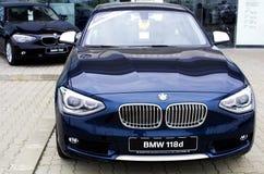 BMW 1 serie Royaltyfri Fotografi