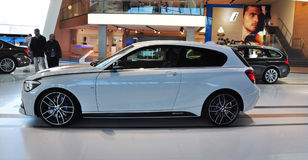BMW 1 Series - M135i Performance. MUNICH, DECEMBER 11: BMW M135i at BMW Car Show on December 11, 2012 in Munich, Germany Royalty Free Stock Photography