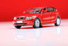 Bmw 1 series suv. With red background Stock Photos