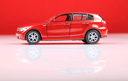 Bmw 1 series suv side view Royalty Free Stock Photo