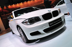BMW 120i hatchback Royalty Free Stock Photos