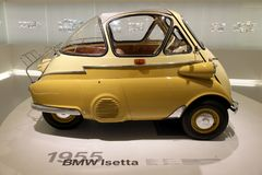 BMW 1955 Isetta Stock Images