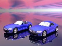 bmw 2 5 mig sportscar z4 Royaltyfria Foton