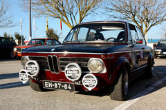 BMW 2002 parked Stock Photo