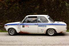 BMW 2002 during Rally Verde Pino 2012 Royalty Free Stock Photography