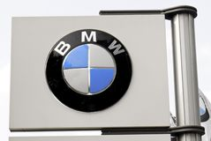 bmw Royaltyfria Bilder