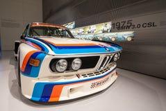 BMW 3.0 CSL in het Museum van BMW Stock Fotografie