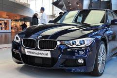 BMW 3 Series. MUNICH, DECEMBER 11: new BMW 3 Series at BMW Car Show on December 11, 2012 in Munich, Germany Stock Images