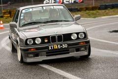 BMW 316 durante la reunión Verde Pino 2012 Fotografía de archivo