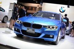 BMW 320d游览 免版税库存图片