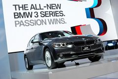 BMW 320d Luxury Royalty Free Stock Photos