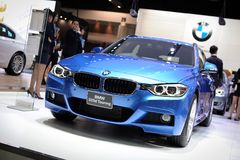 BMW 320d Touring Royalty Free Stock Image