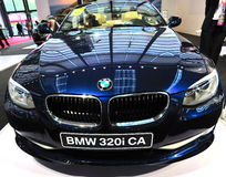 Bmw 320i ca Royalty Free Stock Photography