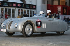 BMW 328 at 1000 Miglia 2010 Royalty Free Stock Photo