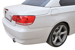 BMW 335i convertible car Stock Photography