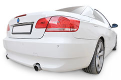 Free BMW 335i Convertible Car Back Corner View Stock Photography - 8474562
