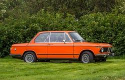 1974 BMW 2002年 库存照片