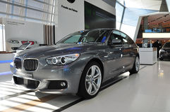 BMW 5系列Gran Tourismo 免版税库存照片