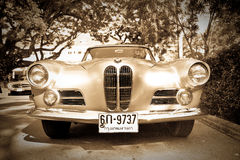 BMW 503 on Vintage Car Parade Royalty Free Stock Photography