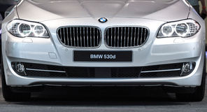 BMW 530d Obrazy Royalty Free