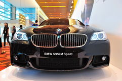 BMW 535i M Sport Sedan Royalty Free Stock Image