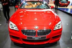 BMW 6 免版税库存照片