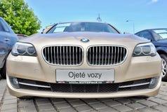 BMW 530 Δ Στοκ Φωτογραφία