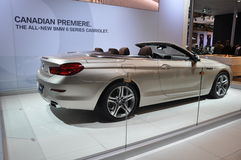 BMW 6 Series Cabriolet Stock Photos
