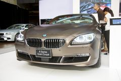 BMW 6 Series Gran Coupe Royalty Free Stock Photography