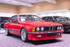 BMW 635 CSI. SAN FRANCISCO - NOVEMBER 27: BMW 635 CSI is on display during the 2010 International Auto Show at the Moscone Center in San Francisco on November 27 Stock Photography