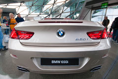 BMW 650i in BMW Museum Royalty Free Stock Images