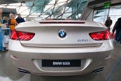 BMW 650i in het Museum van BMW Royalty-vrije Stock Afbeeldingen