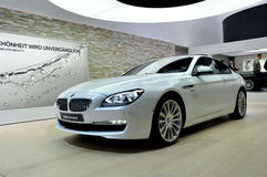 BMW 650i on IAA Frankfurt 2011 Stock Photo